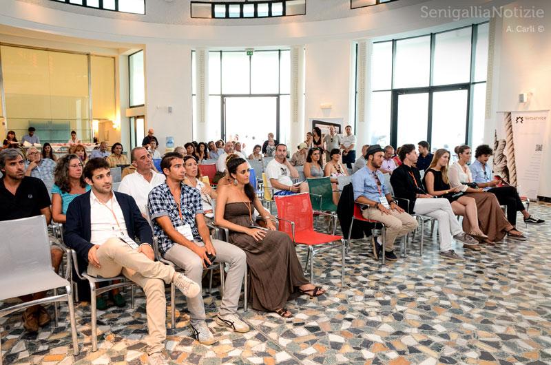 Il pubblico alla Rotonda per Legg10nline