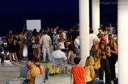 Lo spettacolo offerto dalla terrazza della Rotonda a Mare