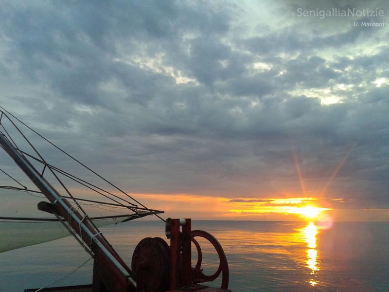20/07/2014 - Alba al porto di Senigallia
