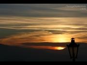 29/07/2015 - Il sole dietro le montagne