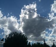 26/07/2017 - Nuvole in controluce
