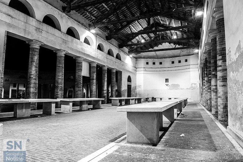 11/07/2018 - Senigallia in B/N: la vecchia pescheria