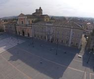 14/07/2018 - Senigallia dall'alto: ombre in piazza Garibaldi