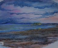 24/05/2017 - La spiaggia d'inverno in acquerello