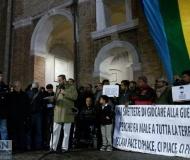Manifestazione contro il terrorismo a Senigallia