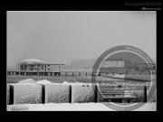 Spiaggia di Velluto e Rotonda a Mare sotto la neve - Leopoldi-1933