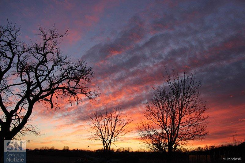 15/03/2019 - Un tramonto particolare