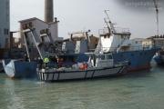 Navalmeccanico, operazioni per sgombero del porto di Senigallia