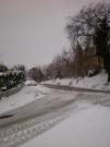 Una strada di Roncitelli di Senigallia