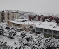 Neve record a Senigallia: fotocronaca di Simone Tranquilli