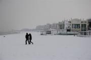 Tratto della spiaggia di Senigallia