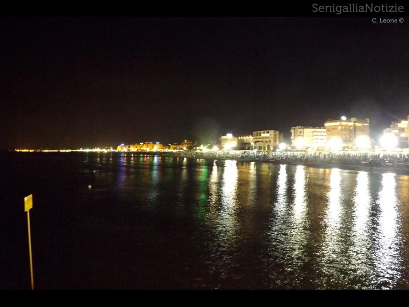 Le luci della riviera senigalliese