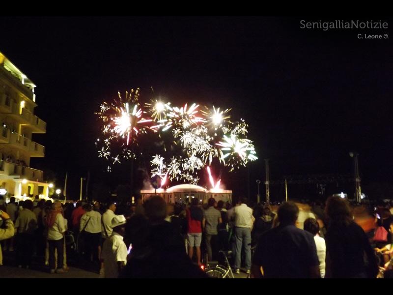 Fuochi d'artificio per la Notte bianca 2013