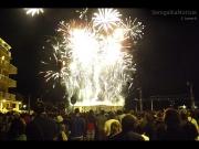 Gran finale di fuochi d'artificio per la Notte della Rotonda 2013