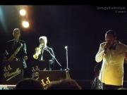I musicisti della band JJ Vianello al piazzale della Libertà
