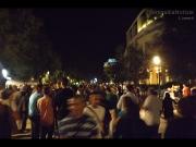 La folla che ha animato il lungomare di Senigallia