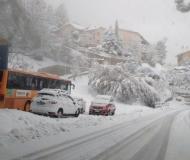 Novembre 2013: nevica su Senigallia e Valmisa