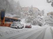 La neve è caduta più abbondante ad Arcevia