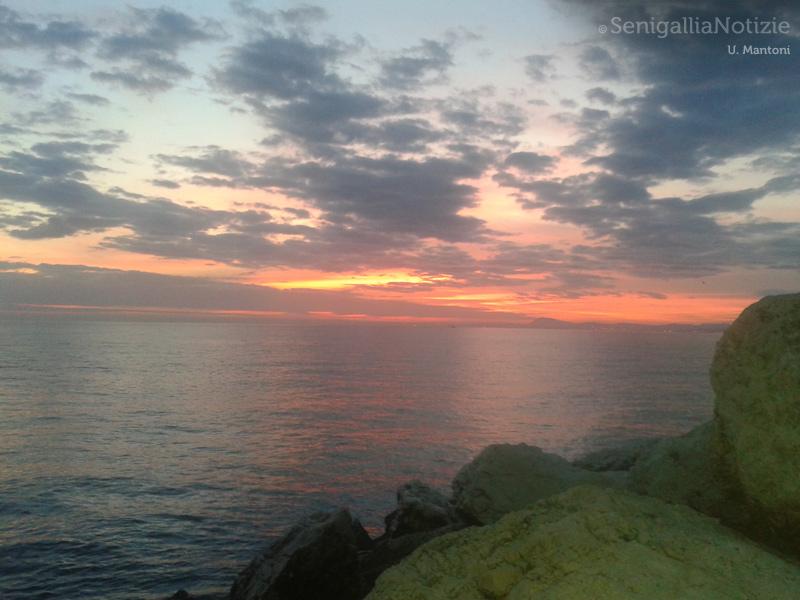 16/11/2014 - Nuvole al tramonto