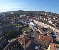 03/11/2016 - Senigallia dall'alto: la Rocca, piazza del Duca, la città