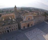 07/11/2016 - Senigallia dall'alto: piazza Garibaldi, la Cattedrale, il panorama