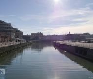 12/10/2017 - Luci dal cielo e dal fiume