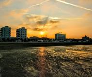 30/10/2017 - Bassa marea al tramonto