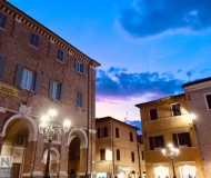 24/10/2019 - Tramonto in piazza Roma