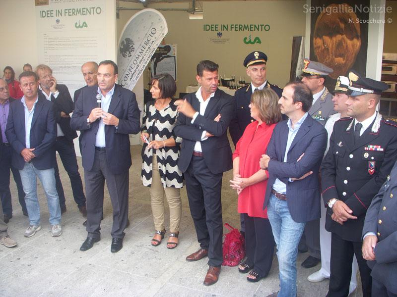Discorsi delle autorità per l'apertura di Pane Nostrum 2013
