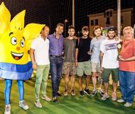 Premiazione II torneo Città di Senigallia - Trofeo Prometeo 2014