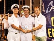 Premiazione della Capitaneria di porto per l'aiuto al torneo