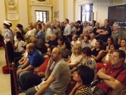 Il pubblico del primo consiglio comunale a Senigallia