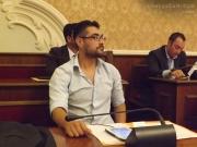 Maurizio Perini in consiglio comunale