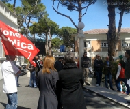 Sanita\', sit-in di protesta a Senigallia