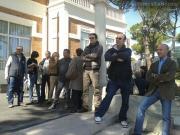 Sit-in contro le politiche messe in atto dall'Asur Marche