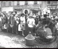Attimi di vita cittadina del passato - Foto Leopoldi