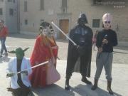 Personaggi in piazza a Senigallia Comics 2013