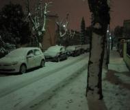 Senigallia di nuovo imbiancata dalla neve