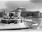 La Rocca Roveresca sotto la neve - Leopoldi-1145