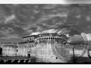 La Rocca Roveresca in bianco e nero - Leopoldi-1329
