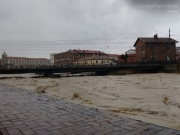 Senigallia, fiume Misa in piena