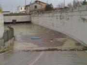 Il sottopasso a tra Marzocca e Marina di Montemarciano