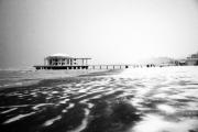 La spiaggia e la Rotonda sullo sfondo