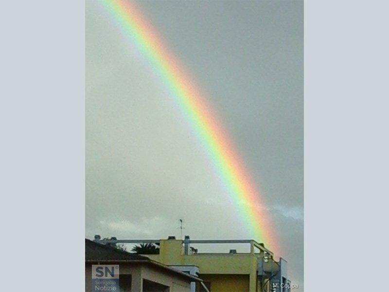 13/09/2015 - Spicchio di arcobaleno