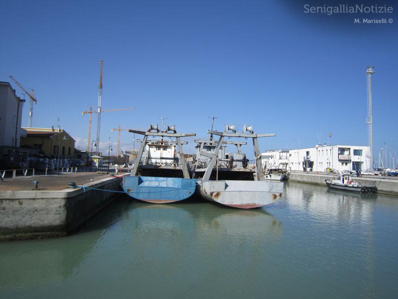Le ultime due navi lasciano Senigallia