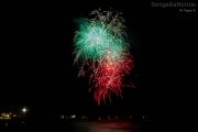 Spettacolo pirotecnico sul mare 2013 a Senigallia