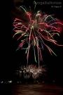 Fuochi d'artificio sul mare di Senigallia