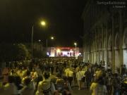 Un fiume di gente verso il Foro Annonario per i concerti del Summer Jamboree