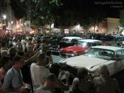 Tanti ammiratori per le auto d'epoca anni '50 del Summer Jamboree