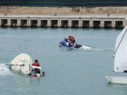 Dimostrazione di salvataggio in mare